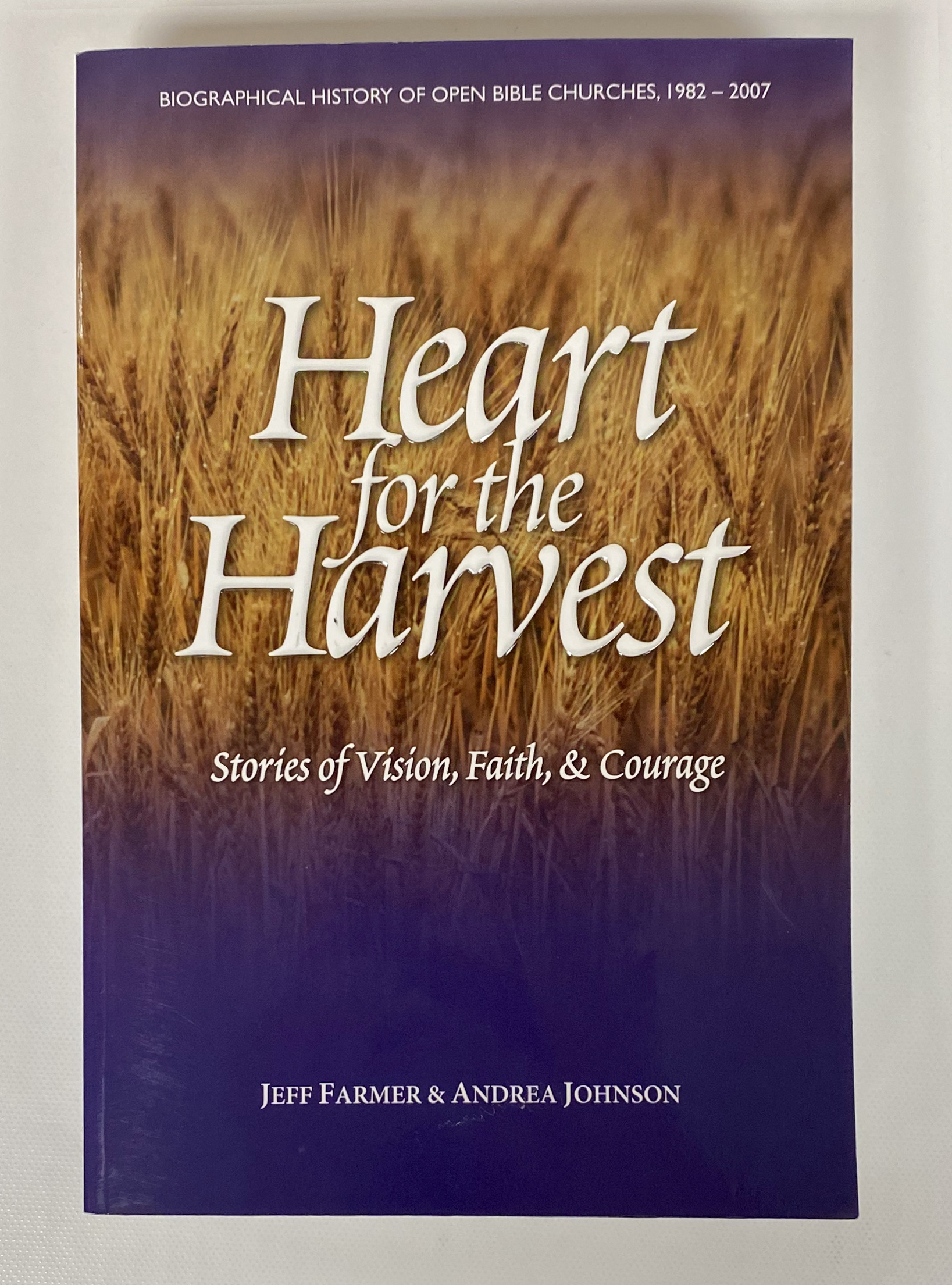 Heart for the Harvest Book